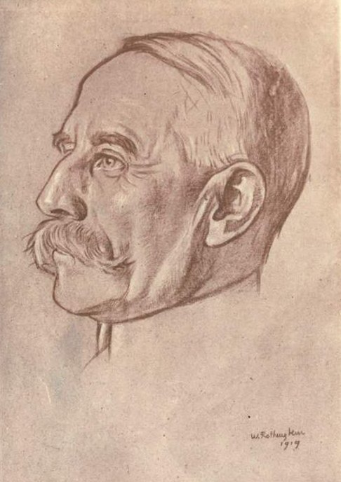 Edward Elgar 1919 by William Rothenstein