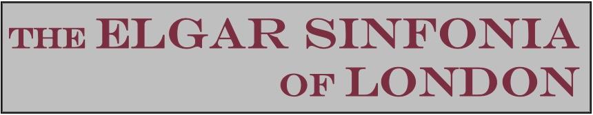 The Elgar Sinfonia of London Logo - new
