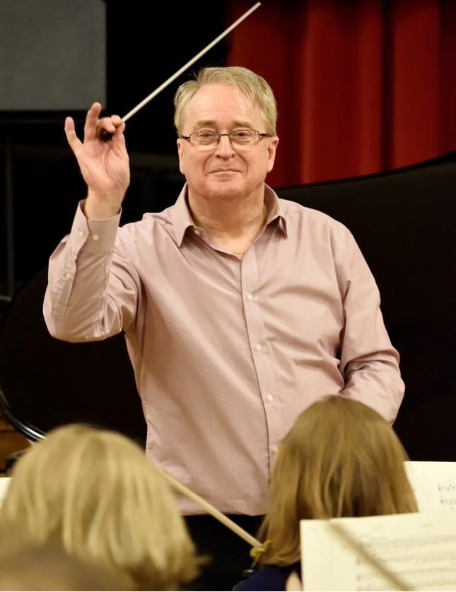 Adrian Brown, Conductor, Elgar Sinfonia of London