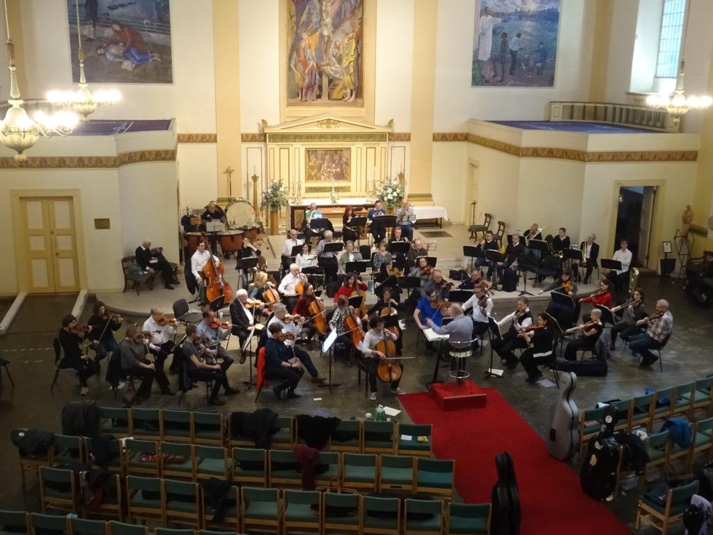 Elgar Sinfonia Rehearsal Nov 2018
